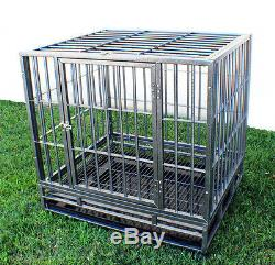 New XL 42 Heavy Duty Level III Dog Pet Cage Crate Kennel Playpen Exercise Pen
