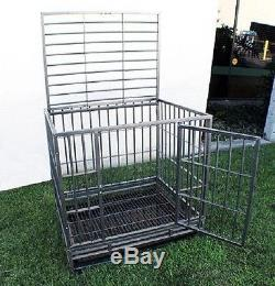 New XL 48 Heavy Duty Level III Dog Pet Cage Crate Kennel Playpen Exercise Pen
