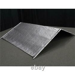 Outdoor Dog Kennel Cover 10 x 10 Large Steel Roof Pen Cage Fence Exercise Shade