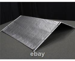 Outdoor Dog Kennel Cover 10x10 Large Steel Roof Pen Cage Fence Shade Exercise