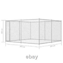 Outdoor Dog Kennel Garden Pet Exercise Playpen Playing Run Cage House Fences