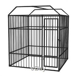 Outdoor Dog Kennel Roof Heavy-Duty Cage Pet Playing Training Crate Exercise Pens
