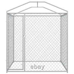 Outdoor Dog Kennel with Canopy Top Cover Dog Pet House Playpen Exercise Pens US