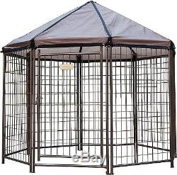 Outdoor Pet Kennel Portable Exercise Pen Collapsible Dog