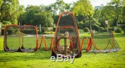 Outdoor cat large kennel dog pet cage enclosure crate house run exercise playpen