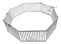 Penn Plax Portable Dog Fence, Exercise Pen Great for Travel, Picnics, and Beach