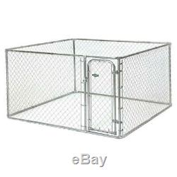 Pet Dog Heavy Duty Large Outdoor Chain Link Dog Kennel Enclosure Exercise Pen
