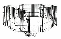 Pet Exercise Pen Cage Dog Folding Door