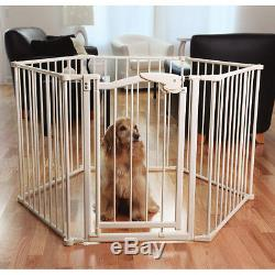 Pet Studio Protect-A-Pet Dog Stand Alone Fence/Gate & Exercise Pen 2 in 1