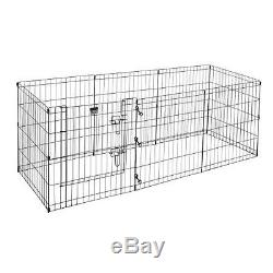 Pet Trex 2205 24 x 24 8 Panel Pen Exercise Playpen for Dogs with High Panel and