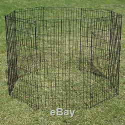 ProSelect Crate Appeal Exercise Pen for Dogs and Pets Black Extra Small 18