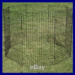 Proselect Crate Appeal Exercise Pen For Dogs & Pets BLACK Extra SMALL 18H 24H