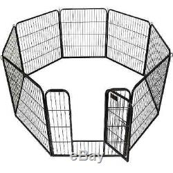 Tall Large Dog Playpen Kennel Exercise Pen Portable Fence Outdoor Puppy 40