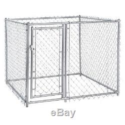 XL Chain Link Fence Outdoor Dog Run Kennel Dogs Exercise Pet Pen NEW
